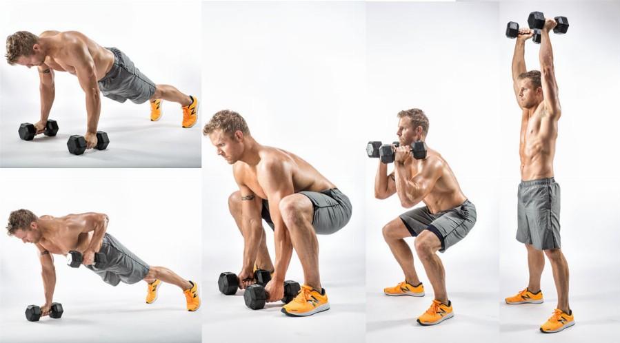 Кроссфит тренировка плечей