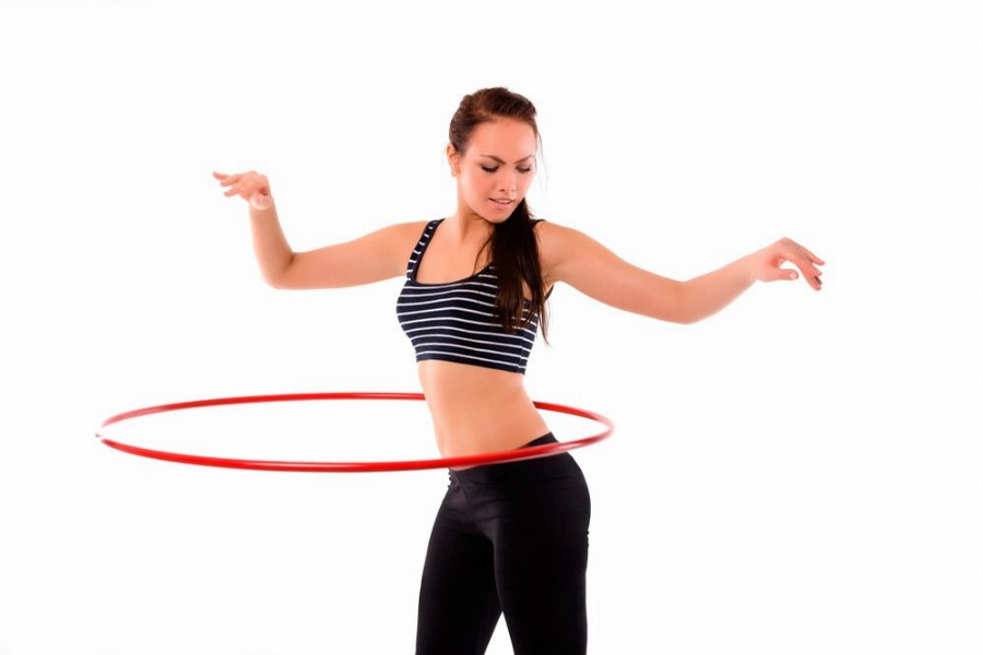 Упражнения с обручем для похудения талии