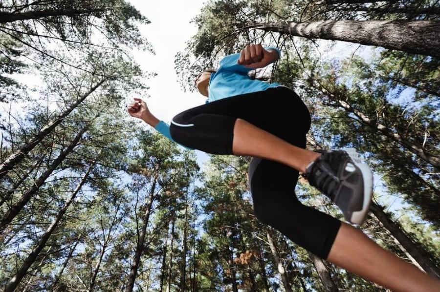 Тренировки на открытом воздухе.