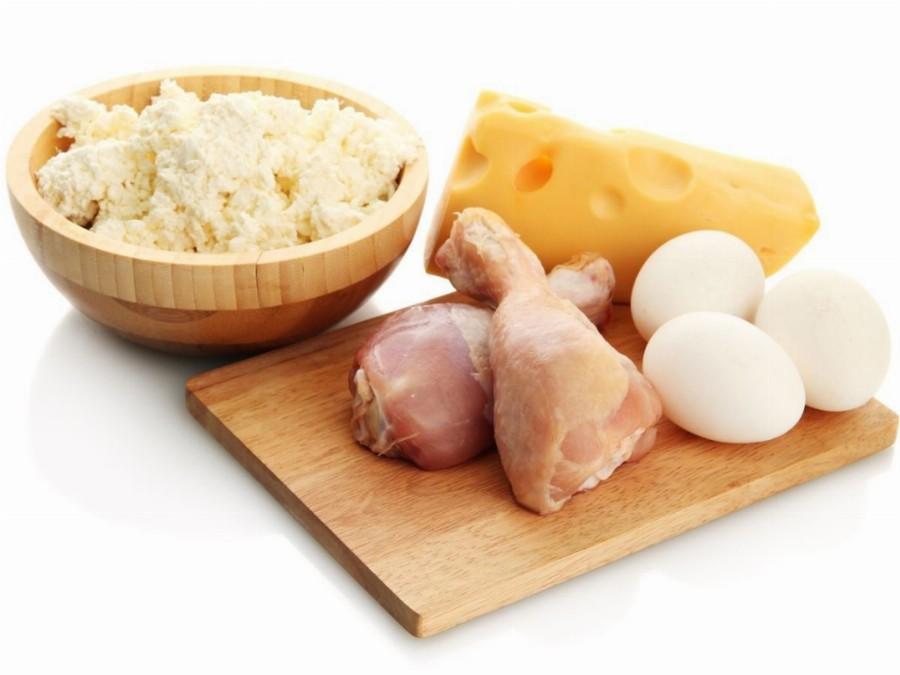 Продукты, насыщенные белками